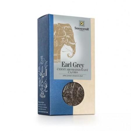 Čierny čaj Earl Grey, sypaný BIO 90 g