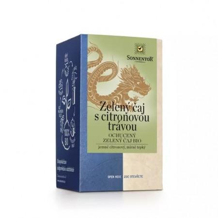 Zelený čaj citronová tráva, porciovaný čaj BIO 21,6 g