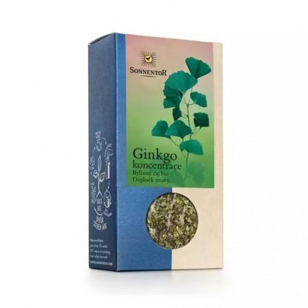 Ginkgo koncentrácia, sypaný čaj BIO 50 g