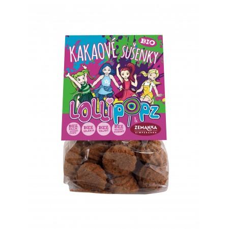 Lollipopz kakaové bio sušienky 100g