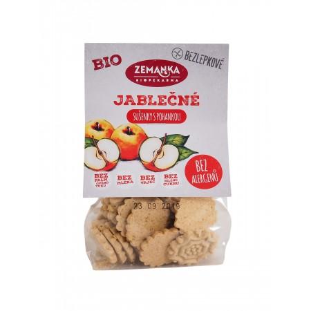 Bezlepkové pohankovo-jabĺčne bio sušienky 100g