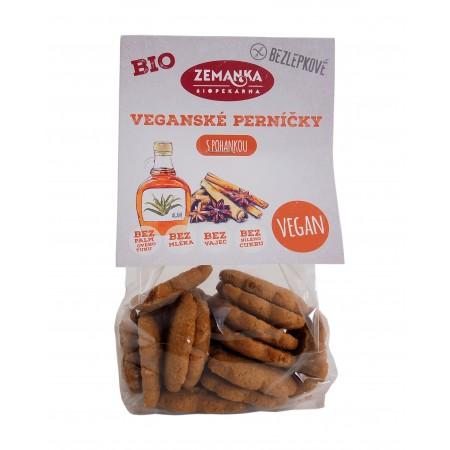 Bezlepkové vegánske bio perníčky 100g