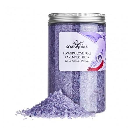 Levanduľové pole - soľná zmes do kúpeľa 500g