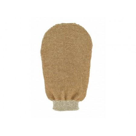 Förster's masážna  rukavica - bio ľan - 2 strany s 2 hrubosťou