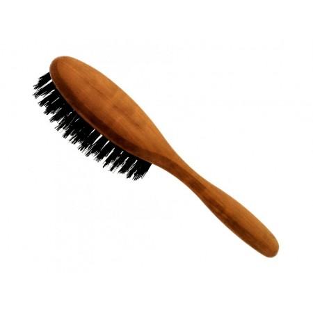 Förster's vlasová kefa z hruškového dreva - so štetinami z diviaka - malá