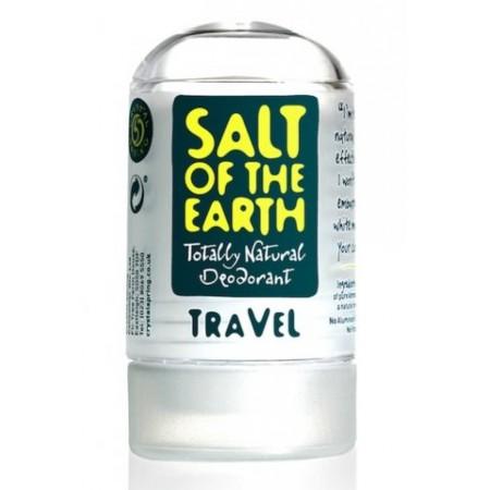 Tuhý dezodorant Soľ Zeme Cestovný - 50g