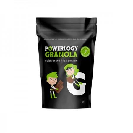 Powerlogy Kids Granola Cacao 400 g