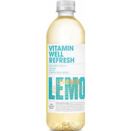 Refresh Kiwi a Limonáda B12 + Zinok 500ml