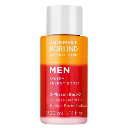2-fázový olej na bradu pre mužov MEN System Energy Boost 30ml
