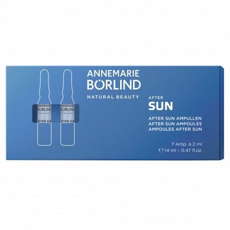 AFTER SUN AMPULE pre slnkom namáhanú pokožku SUN slnečná ochrana 7x2ml