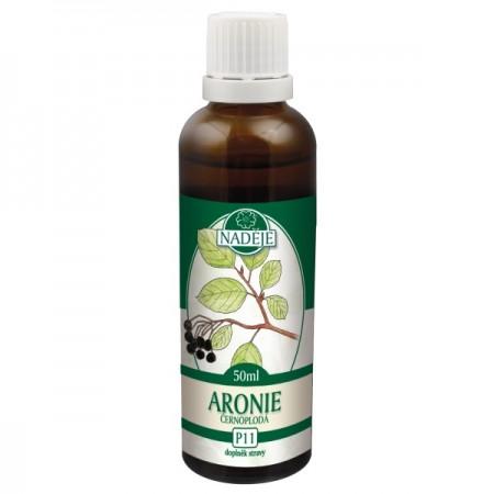 Arónia 50ml, P11 - tinktúra z púčikov rastlín