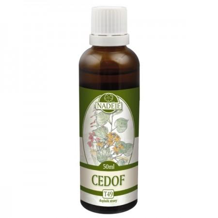 Cedof 50ml, T49 - tinktúra z bylín rastlín