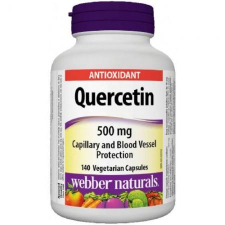 Quercetin (Kvercetín) 500 mg Webber Naturals