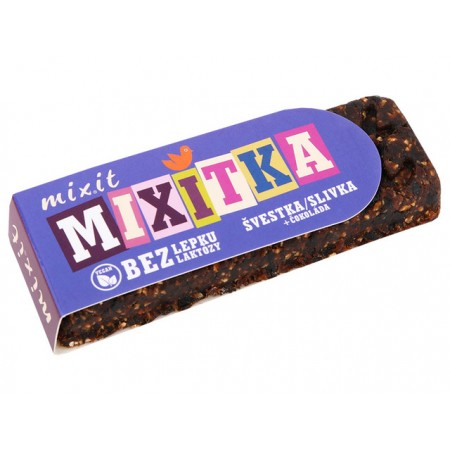 Mixitka Bez Lepku - Slivka + čokoláda 50g