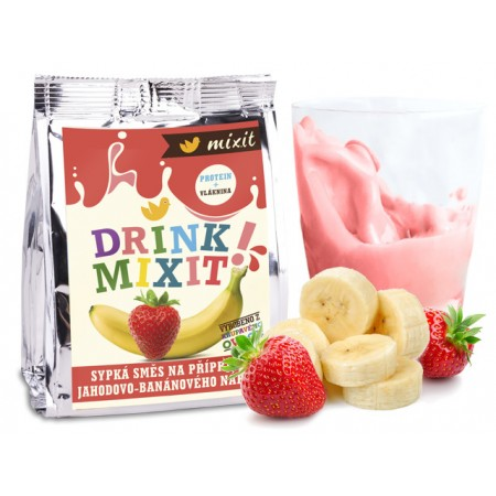 Drink Mixit - Banán & Jahoda 50g