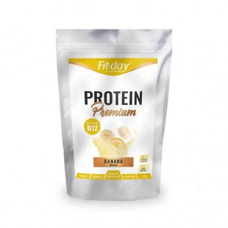 Fit-day Proteín Premium Banán + B12 135 g
