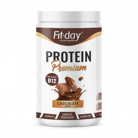 Fit-day Proteín Premium Čokoláda + B12 900g