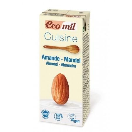 BIO Kulinárska špecialita z mandlí EcoMil 200 ml