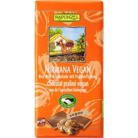 Bio čokoláda Nirwana vegánov RAPUNZEL 100 g