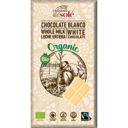 Bio biela čokoláda SOLÉ 100 g