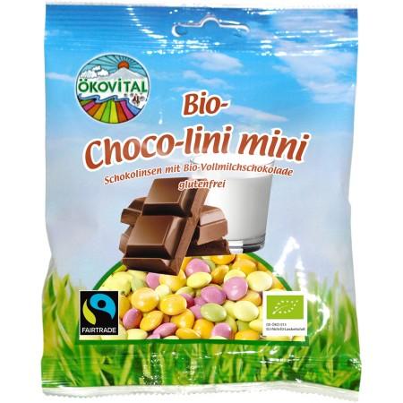 Bio čokoládové dražé farebné ÖKOVITAL 100 g