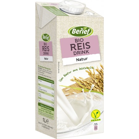 Bio ryžový nápoj Natur BERIEF 1 l