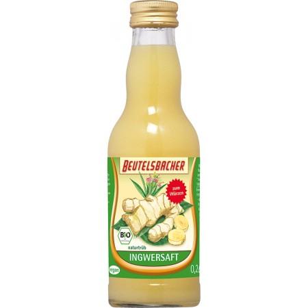 Bio zázvorová šťava Beutelsbacher 0,2l