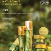 Tento mesiac AKCIA -15% ‼️😉  NATUROYALE System Biolifting - zrelá, náročná pleť  Spája vzácne a najkvalitnejšie prírodné ingrediencie v inovatívnom rastlinnom komplexe BIOLIFTING🌿   Tento komplex je zložený zo vzácnej bielej hľuzovky, morského narcisu, plamatky zelinnej a sečuánskeho korenia, ktoré pri pravidelnom používaní zaručia prírodný BIO-LIFTING: vyhladenie vrások, pevnú pleť a posilnenie kolagénových vlákien.  Pre mladistvý, svieži vzhľad bez vrások  🍀Viditeľný liftingový účinok 🍀Vyhladzuje vrásky 🍀Prirodzene regeneruje pleť 🍀Stimuluje produkciu kolagénu 🍀Spevňuje pleť 🍀Optimalizuje tvorbu melanínu  #naturoyale #lifting #bezvrasok #premiovakozmetika #antiaging #annemarieborlind  #obchodbio